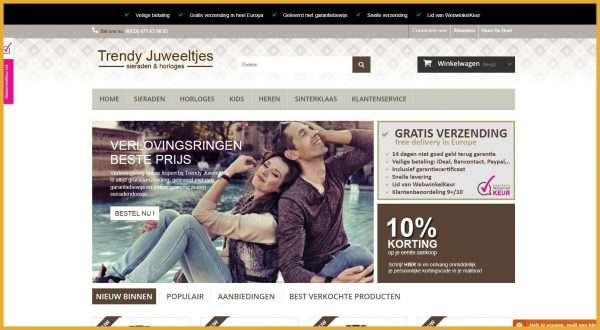 Trendy Juweeltjes.NL – webwinkel